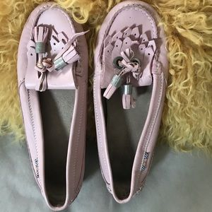 Burberry Soft Leather Moccasins S37